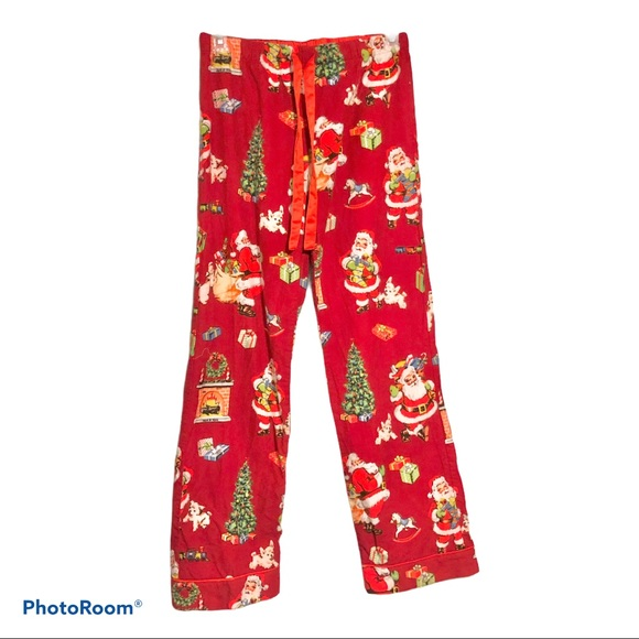Nick & Nora Santa Claus Pajama Sleep Pants